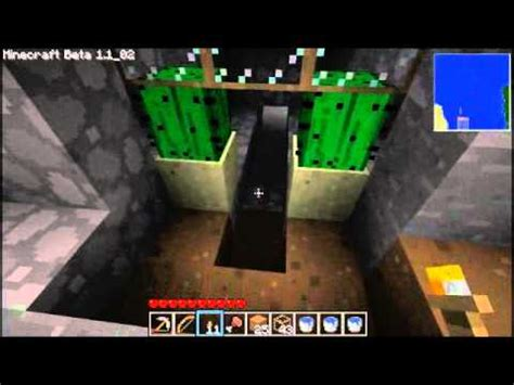 minecraft simple spider spawner trap tutorial youtube