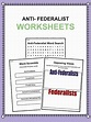 Anti-Federalists Facts, Worksheets & Historical ...