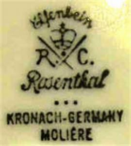 Rosenthal Porzellan Altersbestimmung : philipp rosenthal co in selb in deutschland im zeitraum 1901 ca 1933 ~ Frokenaadalensverden.com Haus und Dekorationen