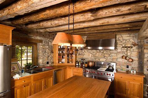 cuisine moderne ilot 10 cuisines créatives avec des murs en pierres bricobistro