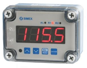Patlite Met Wiring Diagram by Simex Srp N118 Digitale Meter Indicator Regelaar Ip65