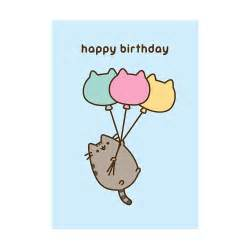 balloon delivery for birthday buy the pusheen happy birthday balloons greeting card