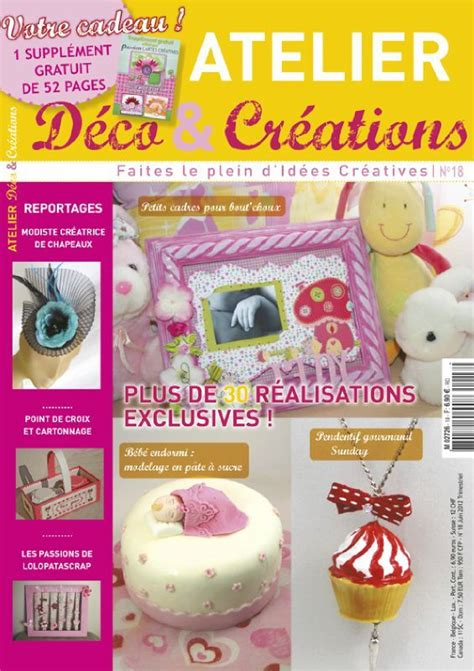 atelier deco et creation magazine atelier deco creations page 2 scrapbooking magazine