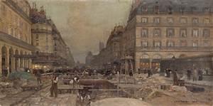 Calendar Format Luigi Loir La Construction Du Métropolitain 1900