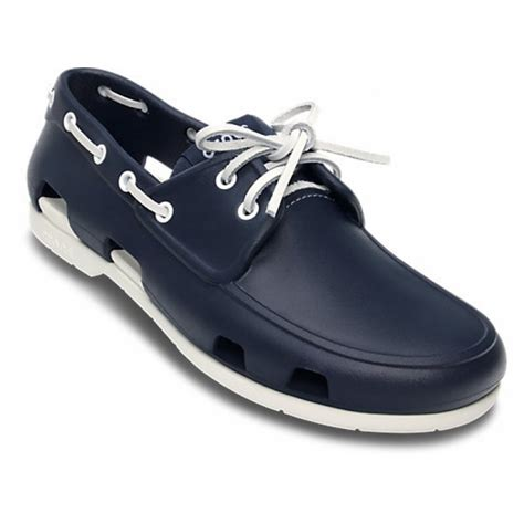 Crocs Boat Shoes Blue by Crocs Line Mens Boat Shoes All Sizes In Various