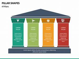 Pillar Shapes Powerpoint