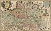 1692 - Lands of Poland divided in Voivodeships - Nicolas…