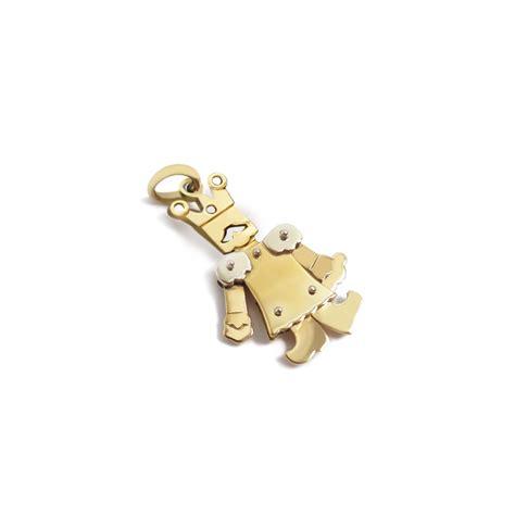 re pomellato pomellato gold ciondolo re piccolo oro giallo m 1133mo