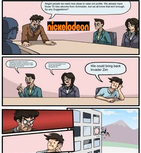 Board Meeting Meme - image gallery nickelodeon memes