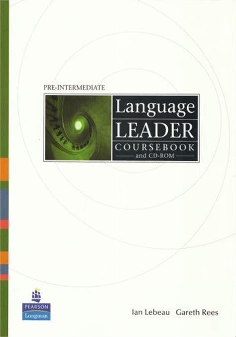 New Language Leader  Class Cd (2 Cd's) (preintermediate) By Gareth Rees  Ian Lebeau On