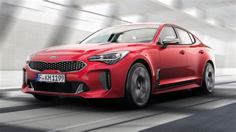 The New Kia Stinger Is A Rear Drive Sports Saloon  Top Gear