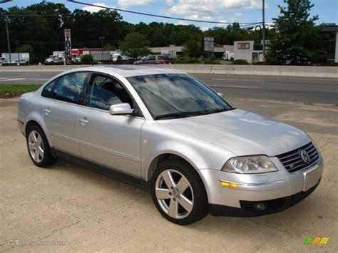 silver volkswagen passat reflex silver metallic 2002 volkswagen passat w8 4motion