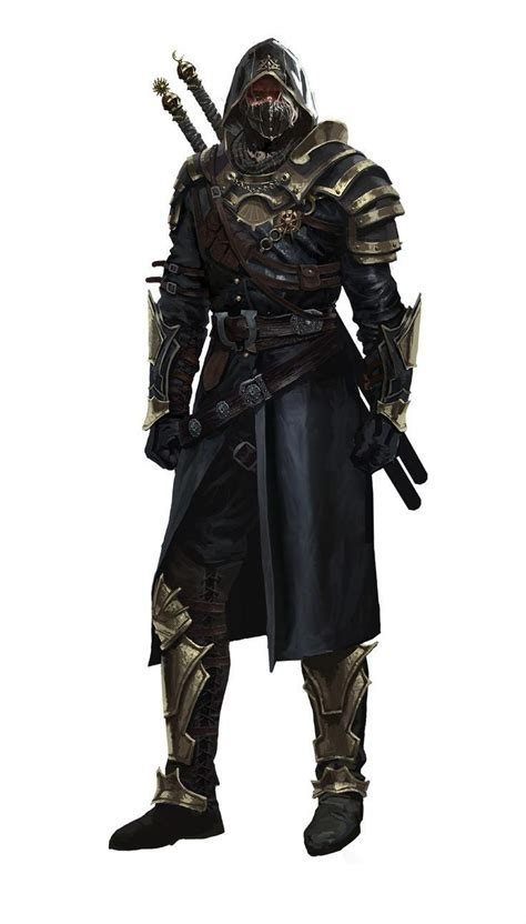dnd rogue male rpg