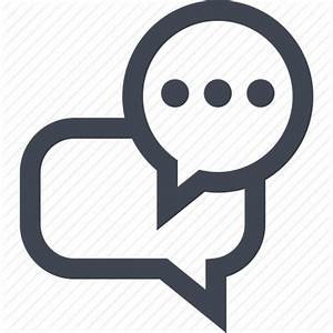 Bubble, conversation, popup, talking icon