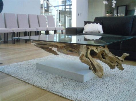 driftwood coffee table design images  pictures