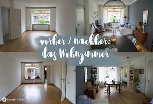 Wohnzimmer Vorher Nachher : maikes neues wohnzimmer kreativfieber ~ Watch28wear.com Haus und Dekorationen