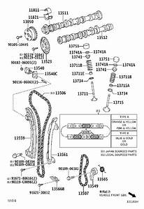 Scion Xb Engine Timing Chain Guide - 135610h010
