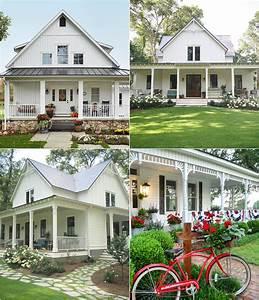15, Beautiful, White, Farmhouses