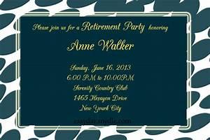 retirement-party-invitation-sample - Easyday