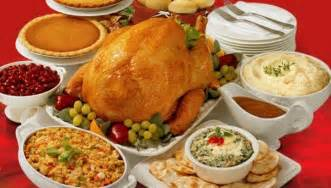 thanksgiving day dinner menu current event
