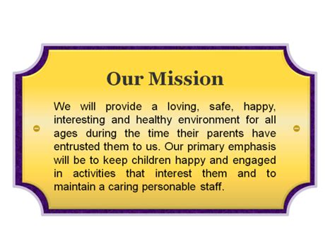 daystar child care a ministry of south flint tabernacle 520 | mission statement