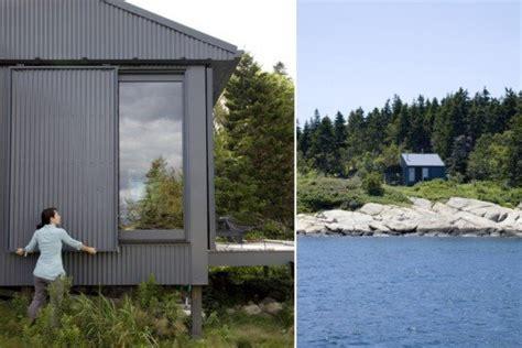 tiny  grid cabin  maine  completely  sustaining maine coast retreat inhabitat