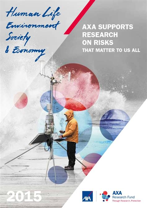 si鑒e social axa axa axa research fund corporate brochure