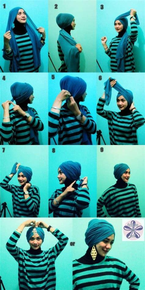 awesome turban hijab style tutorial fashions turban