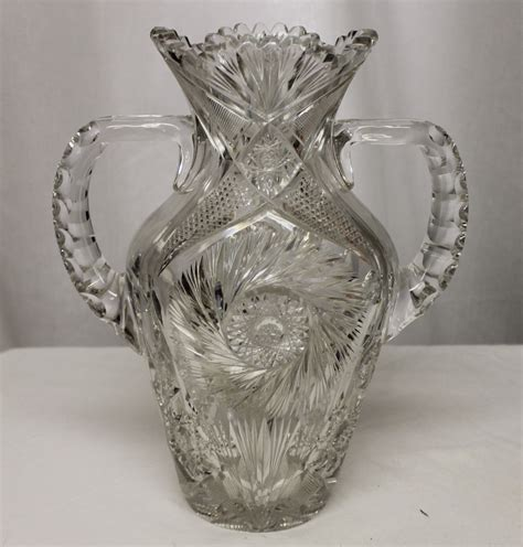 Bargain John's Antiques   Brilliant Cut Glass Large
