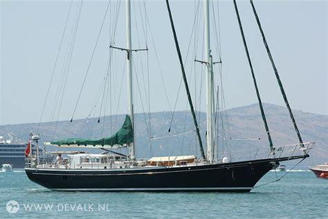 pilothouse schooner sailing yacht  sale de valk yacht