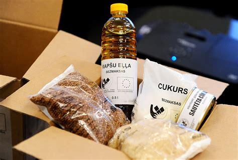 ES pārtikas pakas Latvijas Sarkanais krusts Jēkabpilī izsniedz trīs vietās