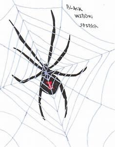 Black Widow Spider by TheOneTrueSirCharles on DeviantArt