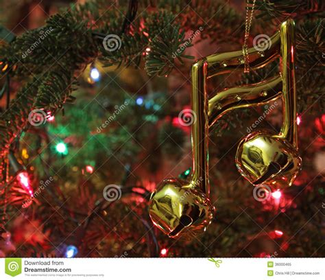 note christmas ornament stock image image