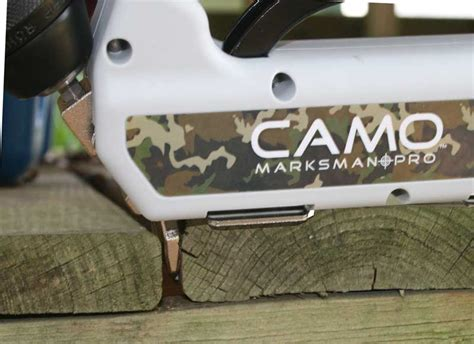 Camo Deck Fasteners by Camo Marksman Pro Deck Fastener System Review
