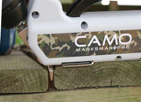 camo deck fasteners camo marksman pro deck fastener system review