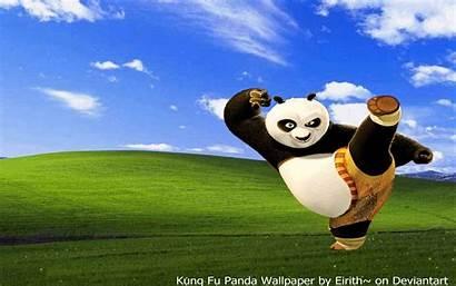 Panda Fu Kung Desktop Cartoon Wallpapers Cartoons