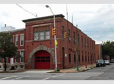 Historic and Former Baltimore Firehouses by Mike Legeros