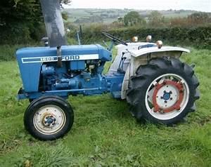 Ford Tractor 1000 - 1600 Service Repair Workshop Manual Download