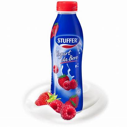 Yogurt Bere Stuffer Fragola 500g Lampone