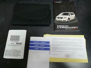 2010 Dodge Grand Caravan Owner Manual User Guide Set Se