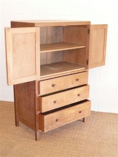 Tallboy Cupboard by Heals Limed Oak Tallboy Cupboard Chest Antiques Atlas