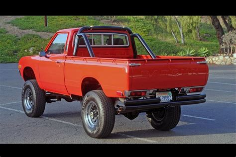 Datsun Truck by Ebay Find 1975 Datsun 620 Truck With Buick Small