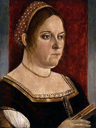 Italian Renaissance Woman Portrait