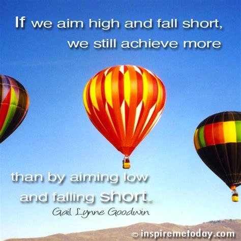 aim high motivational quotes quotesgram
