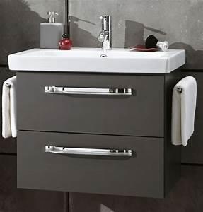 Waschtisch 65 Cm : marlin bad 3060 waschtisch mit unterschrank 65 cm breit badm bel 1 ~ Frokenaadalensverden.com Haus und Dekorationen