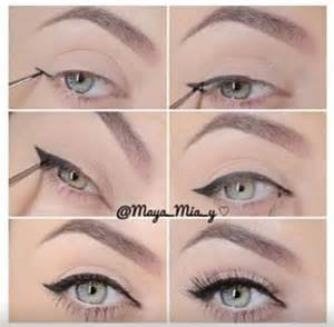 how to cat eye eyeliner winged eyeliner make me up winged