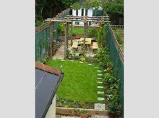 long thin gardens on Pinterest Narrow Garden, Garden