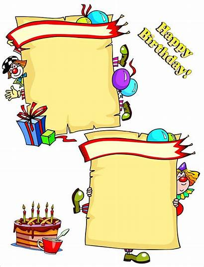 Birthday Card Clipart Cards Disney Clip Cliparts