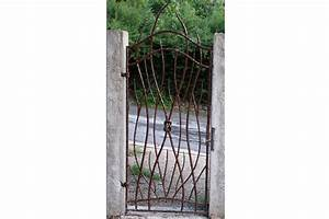 Arche De Jardin En Fer Forgé : portillon jardin fer forge arche de jardin en fer forge ~ Premium-room.com Idées de Décoration