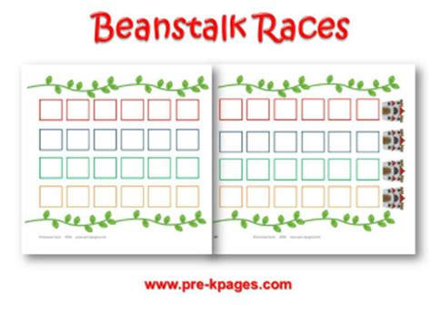 and the beanstalk preschool activities 231 | jack and the beanstalk races game